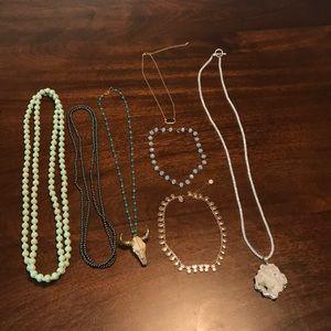 Necklace bundle! (All 7!)